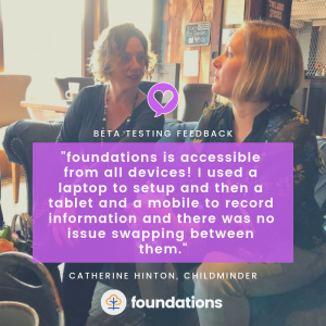 Cath Hinton on foundations app accessibility