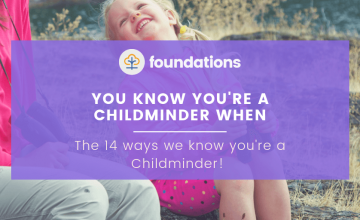 You know you're a childminder when…