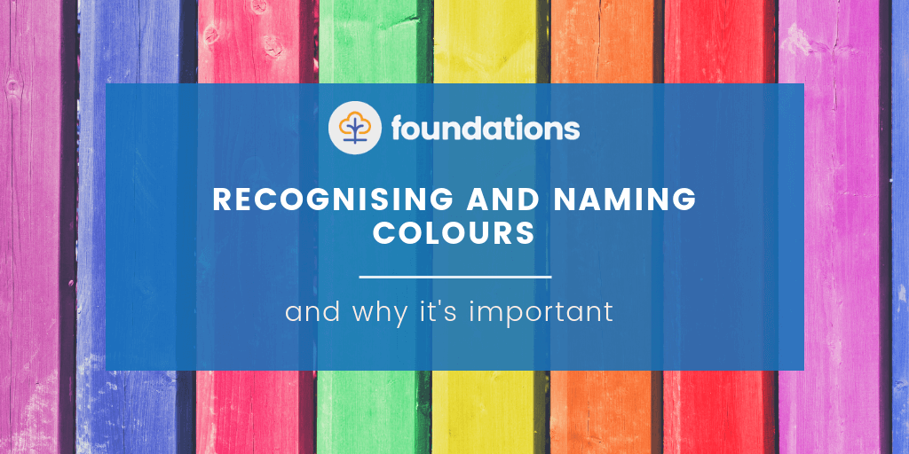 Free Childcare Resource, Recognising and naming colours