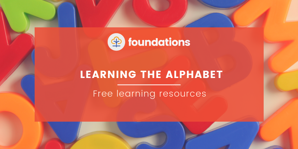 Learning the alphabet free resources for childminders
