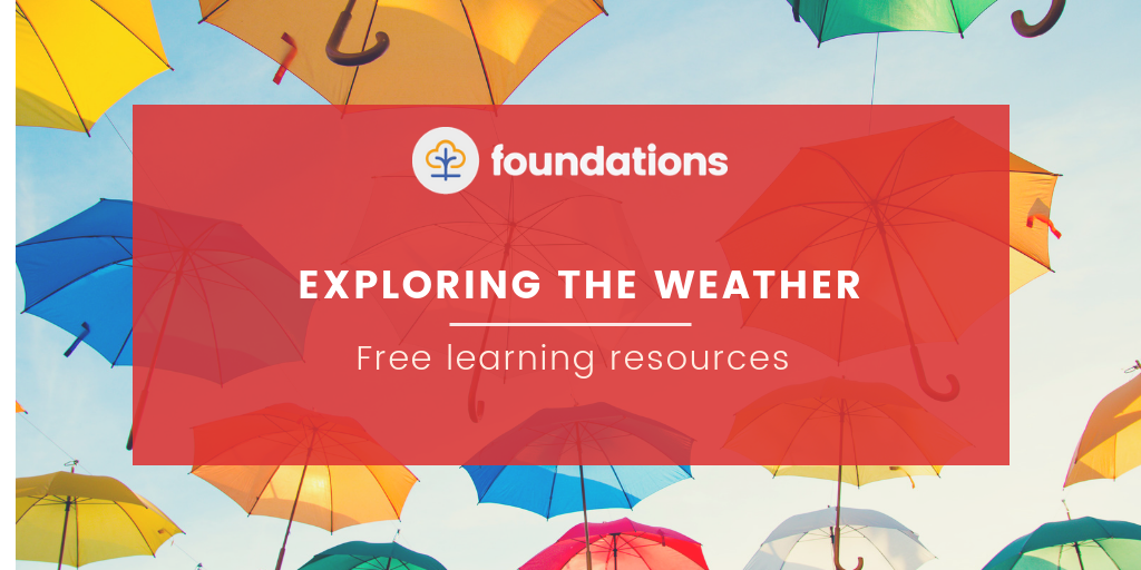 free weather learning resources for childminders