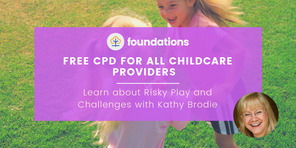 Free CPD for childcare providers