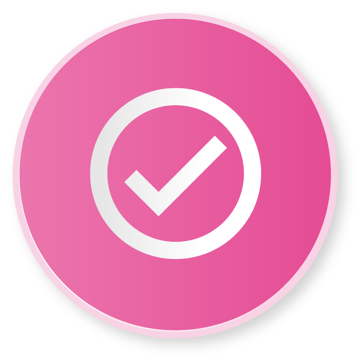 foundations app availability pink tick