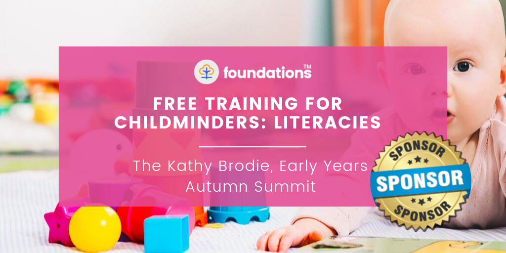 Free training for childminders blog image