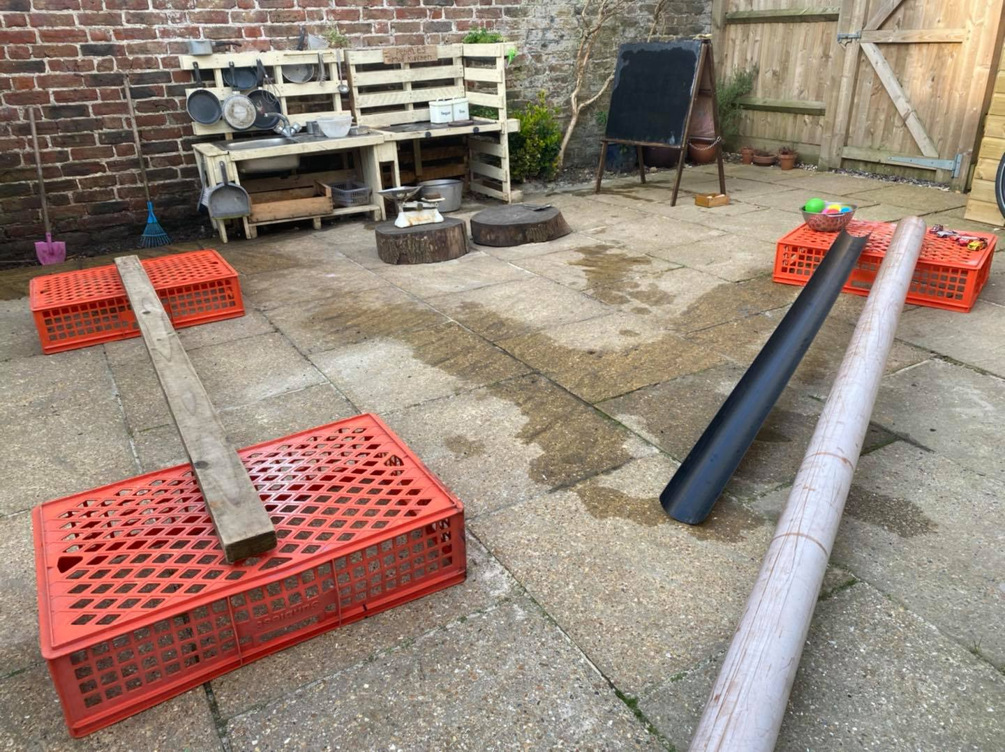 outdoor play activities early years